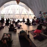 We started each morning with 2.5 hours of meditation and yoga. It was intense!