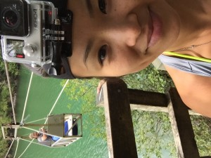 Cable car selfie