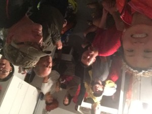Cabin selfie