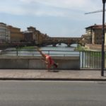 Ponte Vecchio, and one legged crow