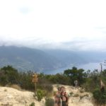 the hike from levanto