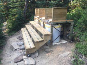 Upgraded toilets (thunderbbox?)